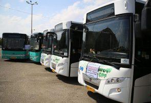 40 اتوبوس جدید وارد ناوگان حمل و نقل درون شهری قم شدند