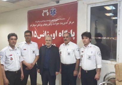 بازدید سرزده وزیر بهداشت از پایگاه جادهای اورژانس قم