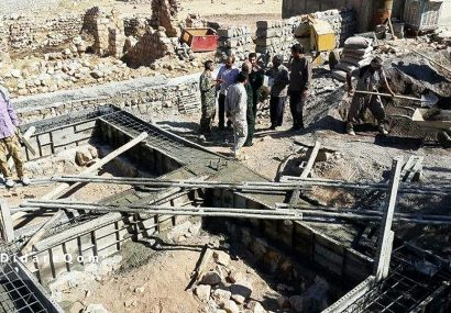ساخت ۱۳۰ واحد مسکونی در مناطق سیلزده لرستان به همت سپاه قم