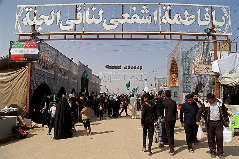 پایان خدمت ۱۲ روز فعالیت موکب آستان حضرت معصومه(س) در عراق
