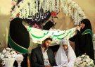 جشن ازدواج ۱۵۰ زوج پاسدار در قم برگزار شد