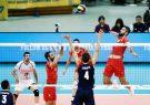والیبالیستهای ایران نتیجه را به آمریکا هم واگذار کردند