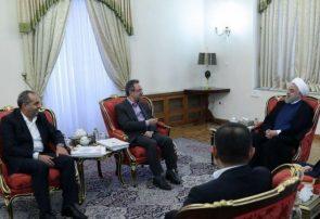 دیدار استاندار قم با رئیس جمهور