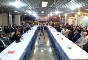 نشست کارکنان بعثه رهبری با حضور سرپرست حجاج ایرانی برگزار شد