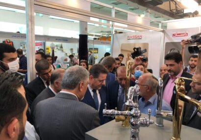 حضور بزرگترین تولیدکننده شیرآلات بهداشتی ایران در نمایشگاه بینالمللی دمشق