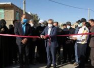 بهرهبرداری از مخزن ذخیره و خط انتقال آب شهرستان کهک